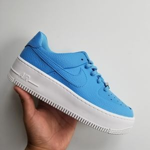 Nike Air Force 1 Sage Low - University Blue